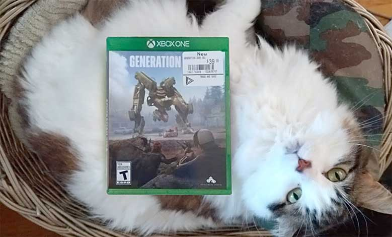 Despite EBGames best effort to disguise it, the full name of the game is Generation Zero