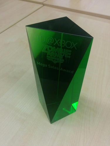 """""""ID@XBOX Zombie Army Trilogy Mega Sales Award"""""""