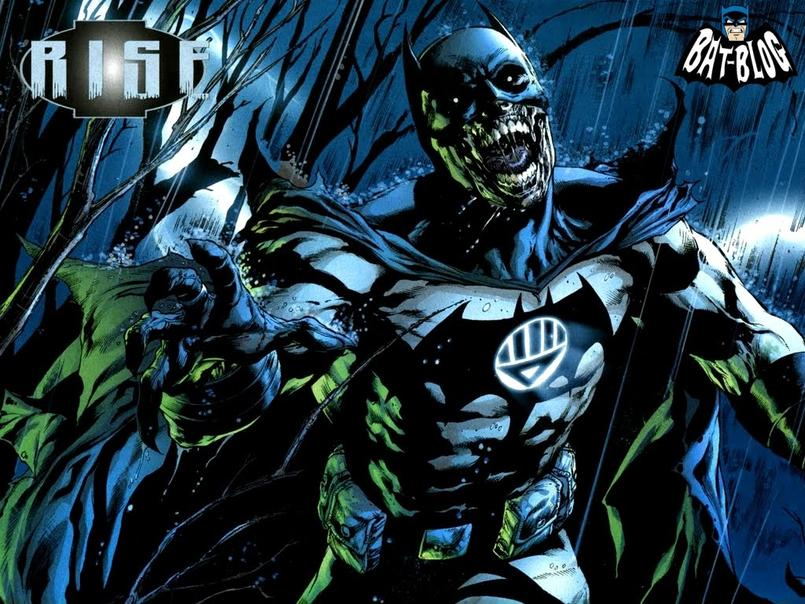 Zombie Batman Comic Blackest Night Batman